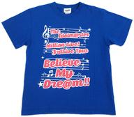 アイドルマスターミリオンライブ! 公式Tシャツ ブルー XLサイズ 「THE IDOLM@STER MILLION LIVE! 3rdLIVE TOUR BELIEVE MY DRE@M!!」 幕張会場限定