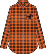 烏野高校 イメージチェックシャツ オレンジ Mサイズ 「ハイキュー!!」