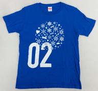 カイ(超特急) No.Tシャツ(02) ブルー Mサイズ 「BULLET TRAIN CHRISTMAS ONEMAN SHOW 2016 愛す。in Wonder Land」
