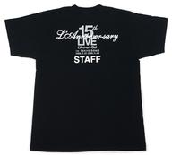 L'Arc~en~Ciel スタッフTシャツ ブラック Sサイズ 「L'Arc~en~Ciel 15th L'Anniversary Live」