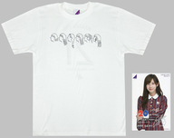伊藤万理華 生誕記念Tシャツ(ポストカード付) ホワイト Lサイズ 2017年2月度乃木坂46オフィシャルウェブショップ限定
