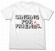 歌うトキTシャツ ホワイト Lサイズ 「けものフレンズ」
