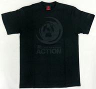 """B'z スタッフTシャツ ブラック Sサイズ 「B'z LIVE-GYM 2008 """"ACTION""""」"""