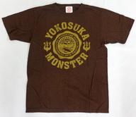 """B'z Tシャツ ブラウン Mサイズ 「B'z SHOWCASE 2006 """"横須賀MONSTER""""」"""