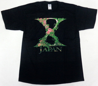 X JAPAN DAILY T-SHIRT(Tシャツ) ブラック Lサイズ 「X JAPAN WORLD TOUR 2015-2016 IN JAPAN」 12月4日横浜会場限定