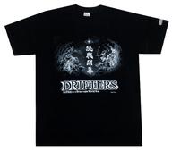 決戦開幕柄 Tシャツ ブラック XLサイズ 「ドリフターズ」
