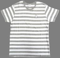 [単品] うさまる(ボーダー) Tシャツ グレー×ホワイト Mサイズ 「うさまる ハッピーバッグ2017」 ロフトネットストア限定