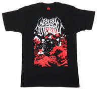 [ステッカー欠品] BABYMETAL The land of the Rising Sun tour COMPLETED Tシャツ ブラック Sサイズ 「BABYMETAL WORLD TOUR 2015 in JAPAN - THE FINAL CHAPTER OF TRILOGY -」