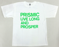 YUKI Tシャツ(グリーン) ホワイト Mサイズ 「PRISMIC TOUR 2002」