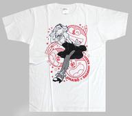枝垂ほたる うまい棒コラボTシャツ ホワイト Lサイズ 「だがしかし」 C89グッズ