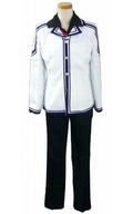 風祭学院高校制服(男子) コスプレ衣装 ホワイト×ブラック Lサイズ 「Rewrite -リライト-」