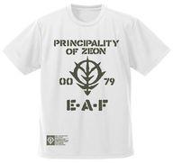 ジオン地球方面軍 ドライTシャツ ホワイト Lサイズ 「機動戦士ガンダム」