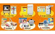 日立のなつかし昭和家電 BOX商品 1BOX = 6個入り、全6種類