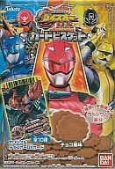 お菓子◆[カード欠け]スーパー戦隊バトルダイスオーDXカードビスケット チョコ風味