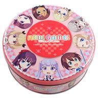 ピンク 缶クッキー 「NEW GAME!」