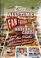 【ボックス】MLB 2005 ALL-TIME FAN FAVORITES