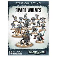 スタート・コレクティング! スペースウルフ 「ウォーハンマー40.000/スペースウルフ」 (Start Collecting!: Space Wolves) [70-53]