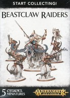 ビーストクロー レイダー 「ウォーハンマー エイジ・オブ・シグマ」 (Warhammer Age of Sigmar: Beastclaw Raiders) [70-86]
