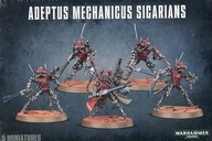 アデプトゥス メカニクス スィカリアン 「ウォーハンマー40.000」 (Adeptus Mechanicus Sicarians) [59-11]