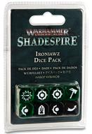 アイアンジョオ ダイスパック 「ウォーハンマー・アンダーワールド:シェイドスパイア」 (Warhammer Underworlds: Shadespire - Ironjawz Dice Pack) [110-11]