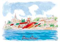 サボイア着水 「紅の豚」 ジグソーパズル 108ピース イメージアートシリーズ [108-281]