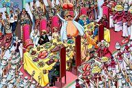 海賊たちの宴 「ワンピース」 ジグソーパズル 1000ピース [1000-353]