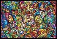 オールスターステンドグラス 「ディズニー」 ジグソーパズル 4000ピース [D-4000-564]