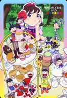 No.26 六つ子&トト子 雑誌イラストシール 「おそ松さん シールウエハース その2」