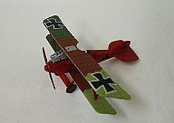 4a. アルバトロスD.III ドイツ空軍 リヒトホーフェン中尉機 「複葉機コレクション」 <食玩>
