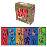 超変換!! もじバケる MARVEL 10個入りBOX (食玩)