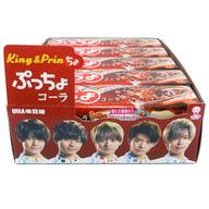 【BOX】ぷっちょスティック コーラ King & Prinちょパッケージ (10個セット)