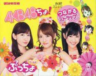 [わけあり品] 【BOX】[小嶋陽菜・高橋みなみ・渡辺麻友 バッケージ] ぷっちょワールド AKB48つながるストラップ (12個セット)