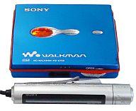ポータブルミニディスクプレーヤー WALKMAN (ブルー) [MZ-E700(L)]