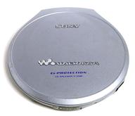 CDウォークマン (シルバー) [D-E999](状態:外付け乾電池ケース欠品)