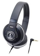 audio-technica ポータブルヘッドホン (ブラック) [ATH-S500-BK]
