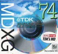 録音用ミニディスク MDXG 74分 [MD-XG74N]