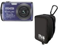 らき☆すた×EXILIM コラボデジタルカメラ 1210万画素 (ブルー) [EZ-Z330BE]