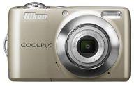デジタルカメラ COOLPIX L22 1200万画素 (シルバー)