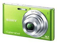 デジタルスチルカメラ CYBER SHOT 1410万画素 (グリーン) [DSC-W320(G)]