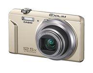 CASIO デジタルカメラ EXILIM EX-ZS150 1610万画素 (ゴールド) [EX-ZS150GD] (状態:USBケーブル欠品)