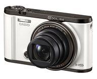 CASIO デジタルカメラ EXILIM HS 1210万画素 (ホワイト) [EX-ZR3000WE] (状態:本体状態難)