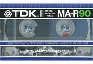 TDK カセットテープ MA-R90 90分 METAL