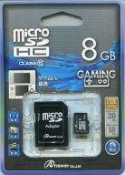 microSDHCカード 8GB (SDカードアダプタ付)[ANS-MS8GB]