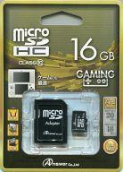 microSDHCカード 16GB (SDカードアダプタ付)[ANS-MS16GB]