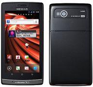 スマートフォン MEDIAS LTE N-04D (Advance Black) [AAN48313]
