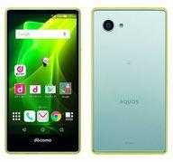 スマートフォン AQUOS Compact SH-02H (Yellow×Silver) [ASH88421]