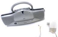パーソナルオーディオシステム (シルバー) [CFD-E10TV(S)]