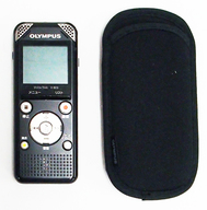 ICレコーダー VOICE TREK 8GB (ブラック) [V-803] (状態:USB延長ケーブル欠品)