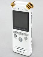 EVISTR デジタルボイスレコーダー 8GB (ホワイト) [L150]