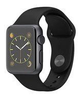 Apple Watch SPORT 38mm ブラックスポーツバンド/スペースグレイアルミニウムケース [MJ2X2J/A](状態:本体状態難)